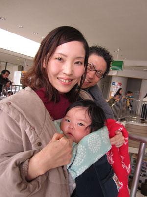 コンサートには育児休業中の団員が子連れで聴きにきてくれました。