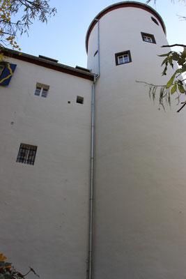 Fassadenanstrich 2012 mit Reinsilikatfarbe