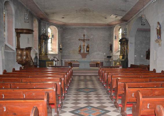Wallfahrtskirche Barweiler Vorzustand