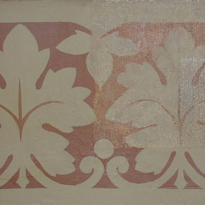 restauriertes Kneippzimmer Schloss Drachenburg 2003