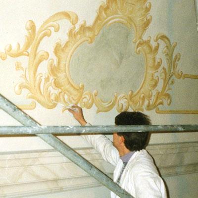 Pfarrkirche Dernau Neuausmalung 2000