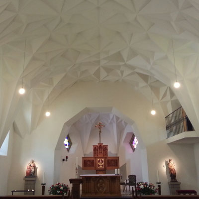 St. Anna Kapelle Bachen nach Restaurierung