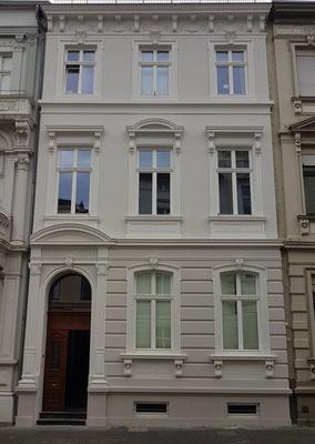 Abgeschlossene Fassadenrestaurierung 2019 Bonn