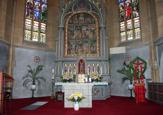 Klosterkirche Niederwerth 2005  Vorzustand