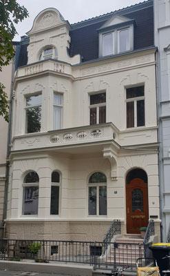 Fassadenanstrich  2019 mit Silikatfarbe Bonn