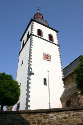 St. Nikolaus Königsfeld 2009 (Kirchturmanstrich mit Reinsilikatfarbe)