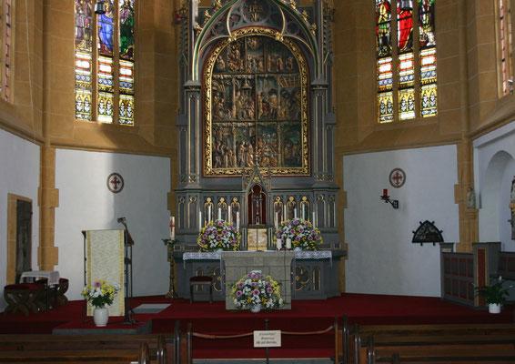 Klosterkirche Niederwerth 2005 nach Restaurierung