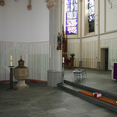 St. Suitbertus Heiligenhaus 2008 nach Ausmalung