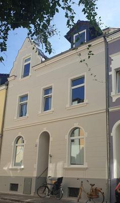 Nach der Renovierung mit KEIM -Silikatfarbe 2021 Bonn