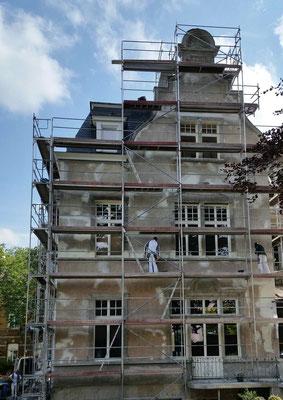 Fassadensanierung 2016