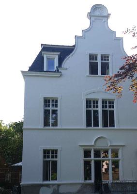 Fassadenanstrich mit Silikatfarbe 2016