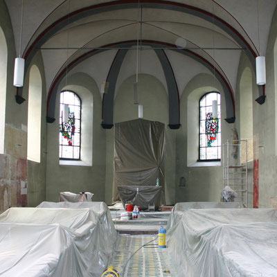 St. Walburga Gelsdorf 2009 /  Vorzustand