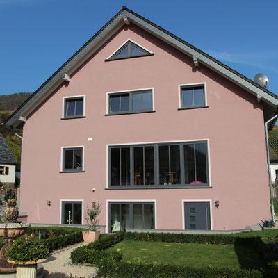 Fassadenanstrich 2012 mit Silikatfarbe