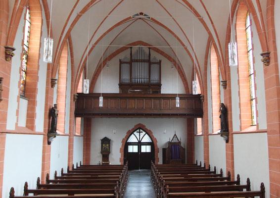 St.Peter Nierendorf nach der Restaurierung 2015