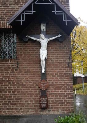 Kreuzanlage nach Restaurierung