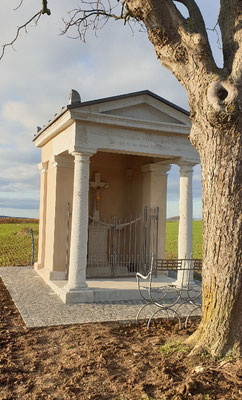 Feldkapelle Ringen nach Restaurierung 2019