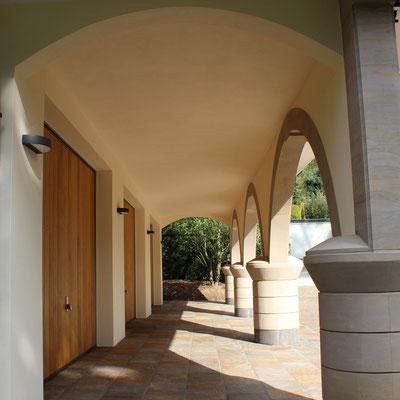 Fassadenanstrich 2014 mit Silikatfarbe