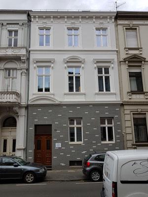 Vorzustand Fassadensanierung  im EG