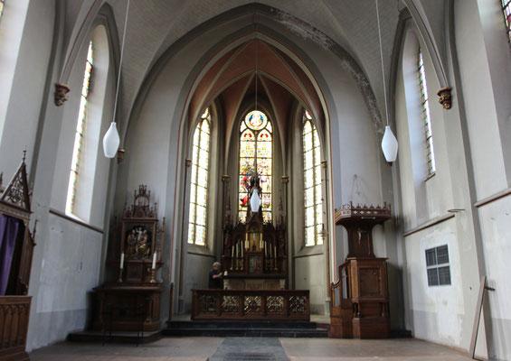 St.Peter Nierendorf vor der Restaurierung