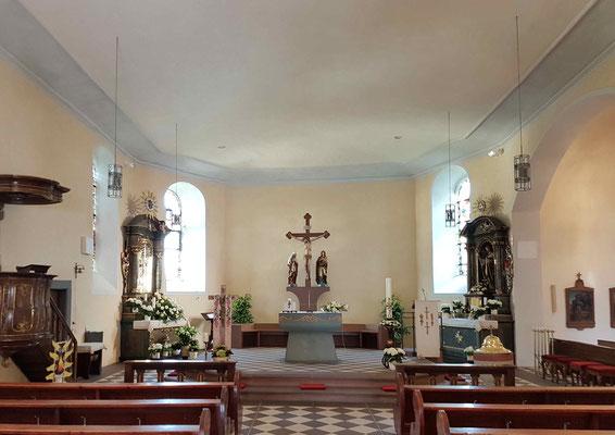 Wallfahrtskirche Barweiler nach Renovierung 2017