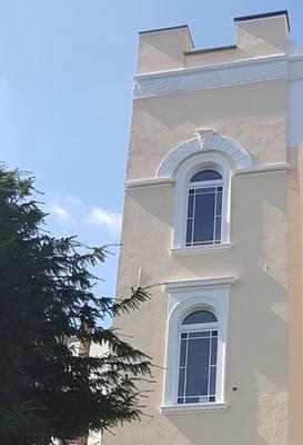 Fassadenanstrich  2019 mit Silikatfarbe