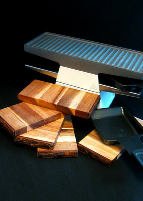Raclettbrettchen aus Akazienholz