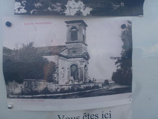 L'église Saint-Rémi avant 1914 - d'inspiration grecque