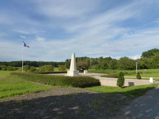 Mémorial dédié à André Maginot et à ses patrouilleurs, victimes d'une embuscade le 9 novembre 1914