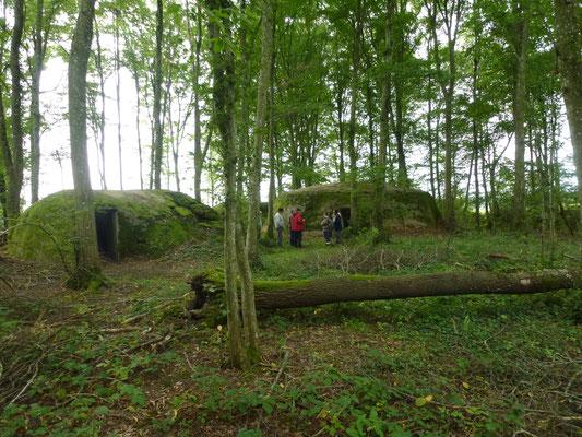 Les fortins orientés vers Verdun