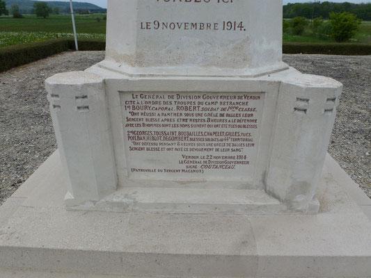 Blessé, le sergent André Maginot a été rapatrié sur Verdun