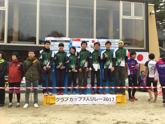 2017年7人リレー 5位入賞