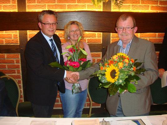 Der Kandidat für die Bürgermeisterwahl der neuen Gemeinde Hagen, Andreas Wittenberg, wurde mit 100% der Stimmen nominiert.