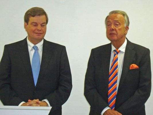 PSts Enak Ferlemann und Kulturstaatsminister Bernd Neumann