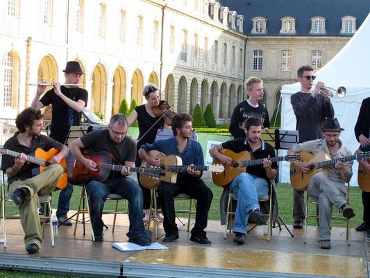 Conseil Régional, fête de la musique