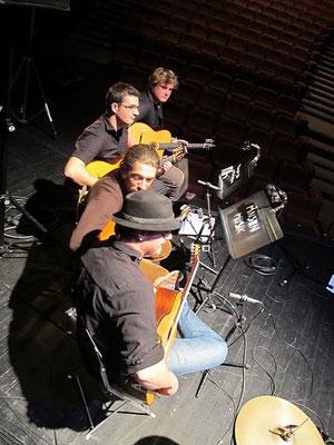 Projet avec Muznouch, concert au théâtre d'Hérouville