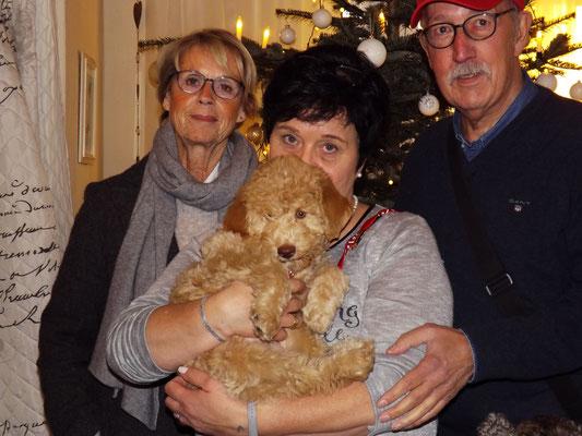 Amanda bekommt ein so wunderbares Zuhause bei Wolfgang und Heike.