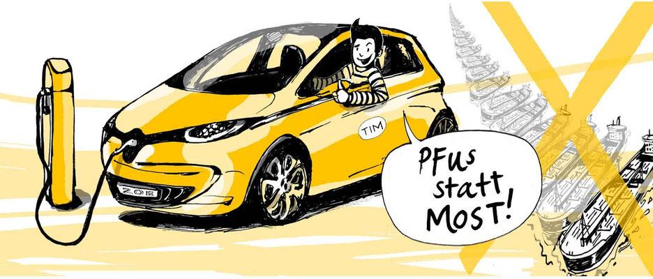 Stromsparen mit: Elektroauto