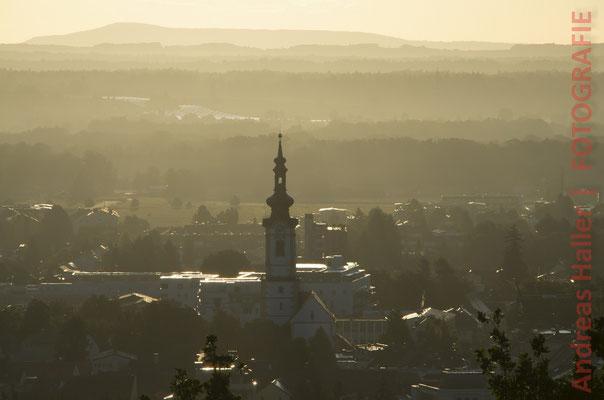 Südsteiermark: Morgennebel über Leibnitz