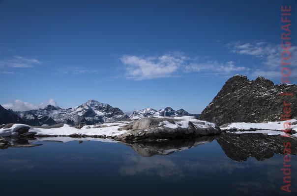 Wintereinbruch am Schladminger Höhenweg