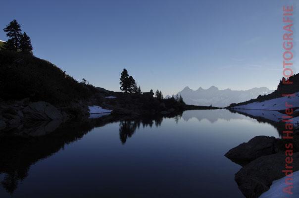 Reiteralm: Morgenstimmung am Spiegelsee