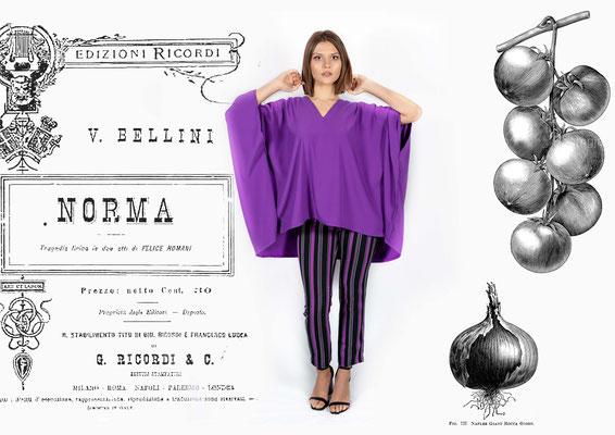 Blusa Caftano Norma