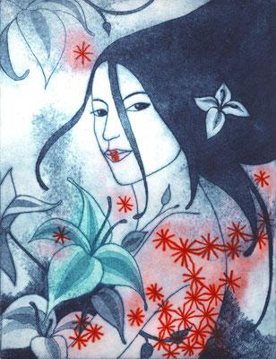 """""""Vanilia"""", techniques mixtes, 31 x 24 cm, édition de 4, 2014, 150€"""