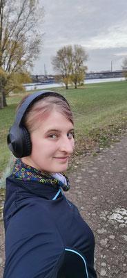 7km joggen führt mich am Rhein lang