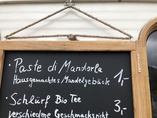 Kreidetafel für Cafe