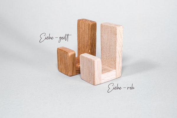 Klebehaken aus Holz