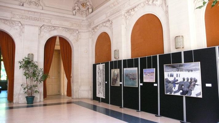 纪念一战华工展 巴黎市政府