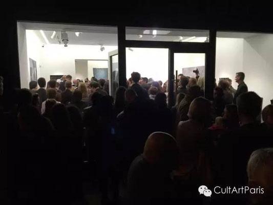 2015年卢森堡大公国艺术奖入围艺术家群展开幕酒会,当晚吸引了1300名参观者!