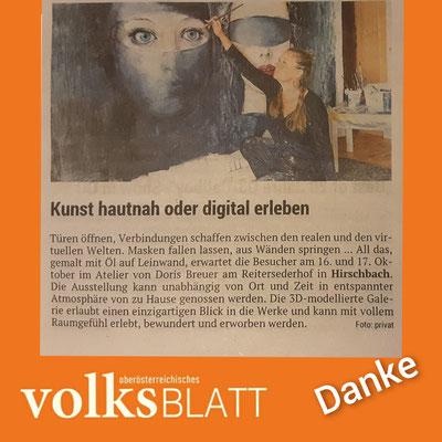 Vielen lieben Dank Thomas Haghofer , für den Bericht im Volksblatt .