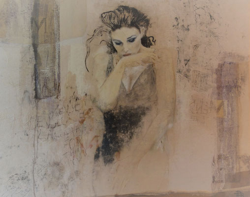 """80 x 100 out of the serie """" la femme"""""""