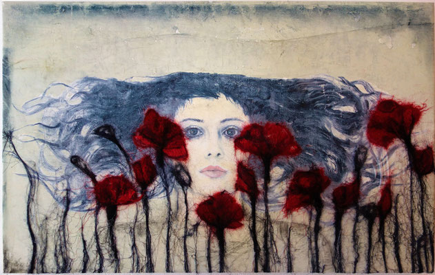 """""""the awakened"""" 65 x 95 cm sold 🔴"""